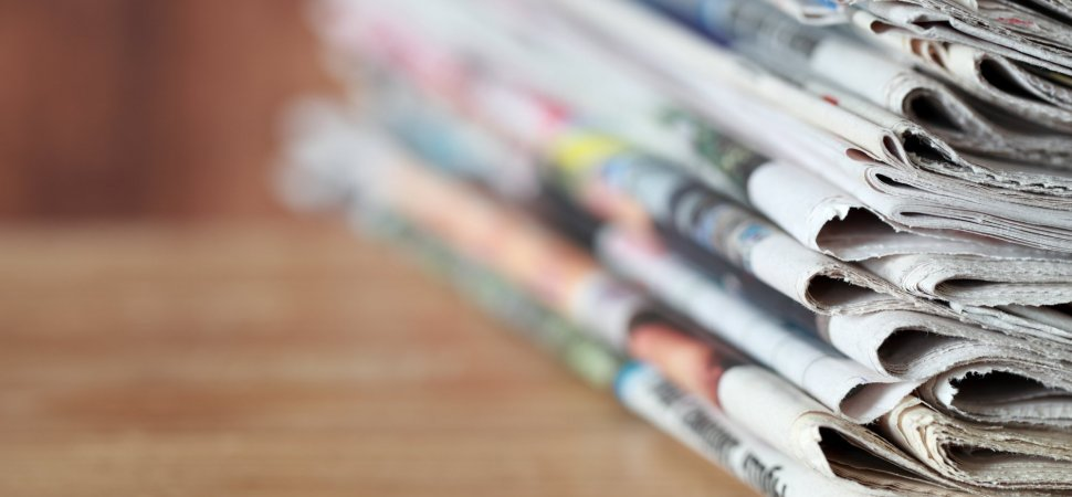 traditional media newspaper